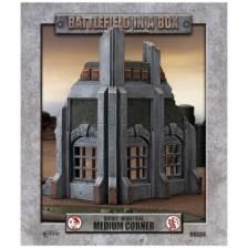 Battlefield In A Box - Gothic Industrial Ruins - Medium Corner