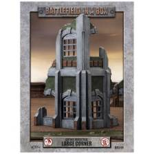 Battlefield In A Box - Gothic Industrial Ruins - Large Corner