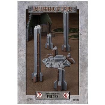 Battlefield In A Box - Gothic Industrial Ruins - Pillars