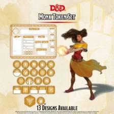 D&D - Monk Token Set