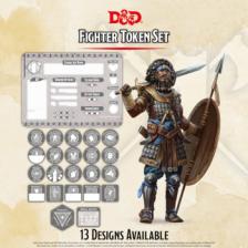 D&D - Fighter Token Set