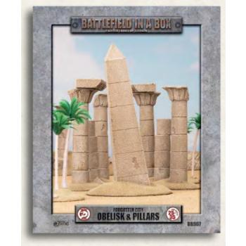 Battlefield In A Box - Forgotten City - Obelisk & Pillars