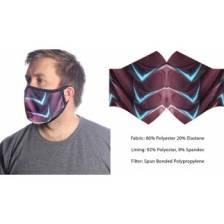 Wild Bangarang Face Mask - RED DRAGON Size L