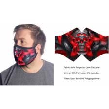 Wild Bangarang Face Mask - SKULL REAVER Size M