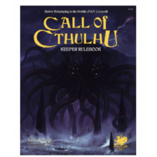 Call of Cthulhu RPG - Keeper Rulebook