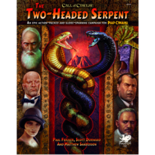 Call of Cthulhu RPG - The Two-Headed Serpent