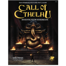 Call of Cthulhu RPG - Investigator Handbook (7th ed.)