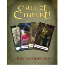 Call of Cthulhu RPG - Call of Cthulhu Keeper Decks