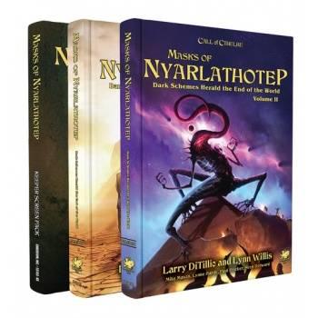 Call of Cthulhu RPG - Masks of Nyarlathotep - Slipcase Set