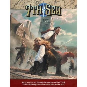7th Sea RPG - Core Rulebook 2nd Edition