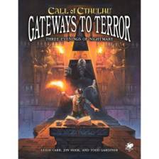 Call of Cthulhu RPG - Gateways to Terror