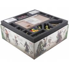 Feldherr foam tray set for Zombicide: Green Horde - core box