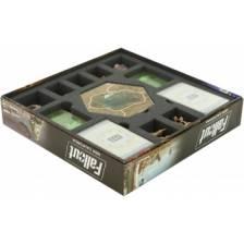 Feldherr foam tray set for Fallout: New California - board game box