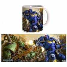 Ultramarines vs Nurgle Mug - Warhammer 40K