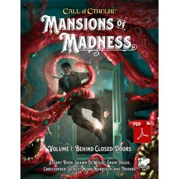 Call of Cthulhu RPG - Mansions of Madness Vol.I Behind Closed Doors