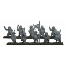 Warlords of Erehwon - Halflings with Swords
