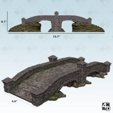 WizKids 4D Settings: Stone Bridge