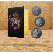 Yu-Gi-Oh! - Coin Album with 3 coins