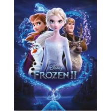 Pyramid Canvas Print - Frozen 2 (Magic) 30 x 40cm