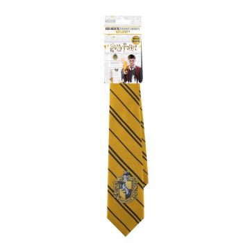 Adults Hufflepuff Woven Necktie