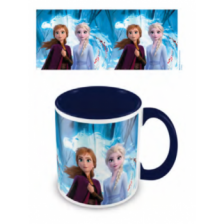 Pyramid Coloured Inner Mugs - Frozen 2 (Guiding Spirit) Blue