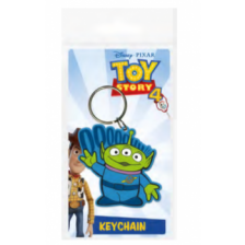 Pyramid Rubber Keychains - Toy Story 4 (Alien)