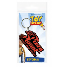 Pyramid Rubber Keychains - Toy Story 4 (Pizza Planet)