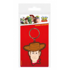 Pyramid Rubber Keychains - Toy Story 4 (Woody)