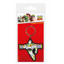 Pyramid Rubber Keychains - Toy Story 4 (Buzz Lightyear)