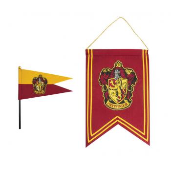 Gryffindor Banner & Flag Set