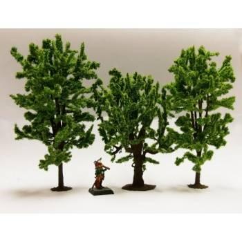 Ziterdes - Fable forest Model Deciduous Trees mix Horse Chestnut, Oak, Linden