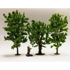 Ziterdes - Fable forest Model Deciduous Trees mix Horse Chestnut, Oak, Linden
