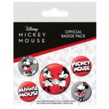 Pyramid Badge Packs - Mickey Mouse (Mickey & Minnie)