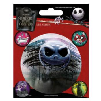 Pyramid Vinyl Sticker Packs - Nightmare Before Christmas (Characters)