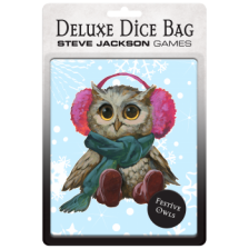 Deluxe Dice Bag: Festive Owls