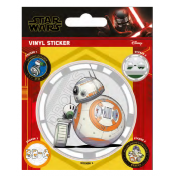 Pyramid Vinyl Sticker Packs - Star Wars: The Rise of Skywalker (Droids)