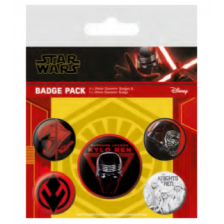 Pyramid Badge Packs - Star Wars: The Rise of Skywalker (Sith)