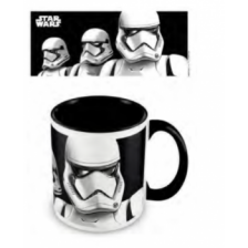 Pyramid Coloured Inner Mugs - Star Wars: The Rise of Skywalker (Stormtrooper Dark) Black