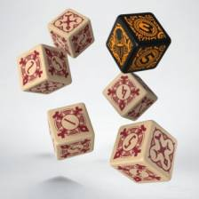 Warmachine Protectorate of Menoth Faction D6 Dice (6)