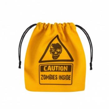 Zombie Yellow & black Dice Bag