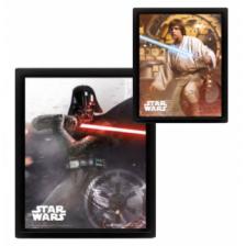 Pyramid 3D Lenticular Poster - Star Wars (Vader Vs Skywalker) (3 Posters)