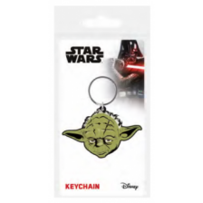 Pyramid Rubber Keychains - Star Wars (Yoda)