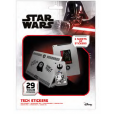 Pyramid Tech Sticker Packs - Star Wars (Force)