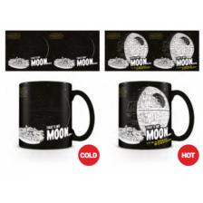 Pyramid Heat Changing Mugs - Star Wars (That's No Moon)