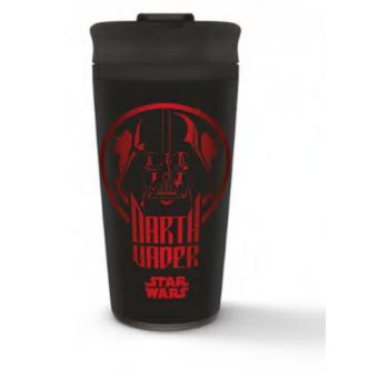 Pyramid Metal Travel Mugs - Star Wars (Darth Vader)