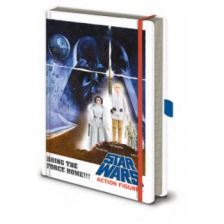 Pyramid Premium A5 Notebooks - Star Wars (Action Figures)