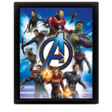 Pyramid 3D Lenticular Poster - Avengers: Endgame (Avengers Unite) (3 Posters)