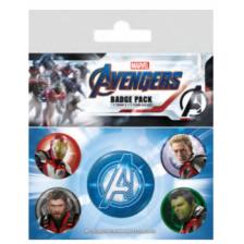Pyramid Badge Packs - Avengers: Endgame (Quantum Realm Suits)