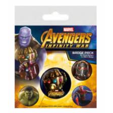 Pyramid Badge Packs - Avengers: Infinity War (Infinity Gauntlet)