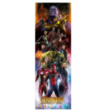 Pyramid Door Posters - Avengers: Infinity War (Characters) (5 Posters)
